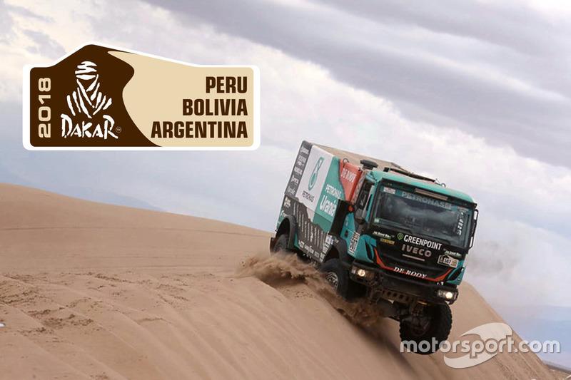 Dakar 2018: Camion