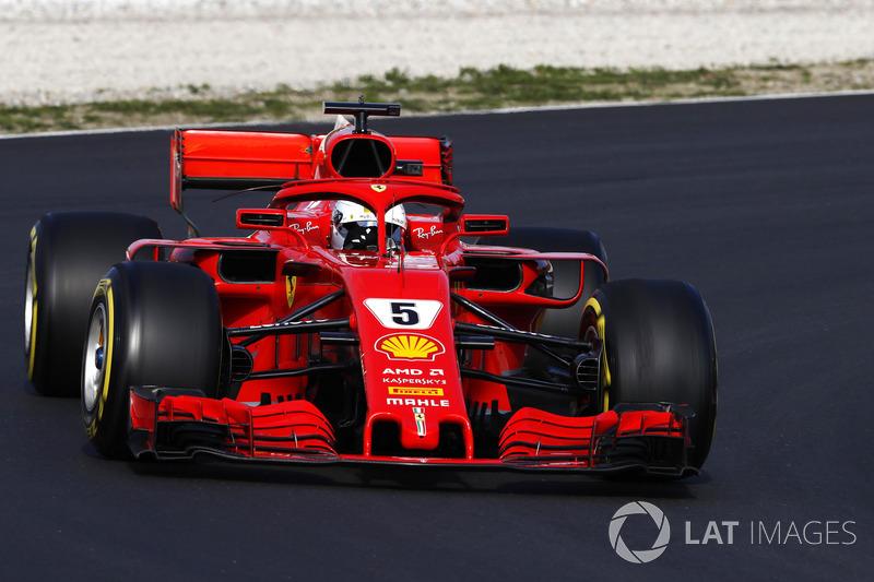 El Ferrari SF71H de 2018: 'Loria'