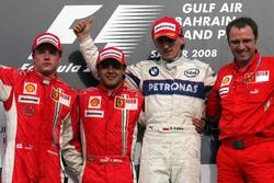 Podium: 1. Felipe Massa, Ferrari; 2. Kimi Raikkonen, Ferrari; 3. Robert Kubica, BMW Sauber