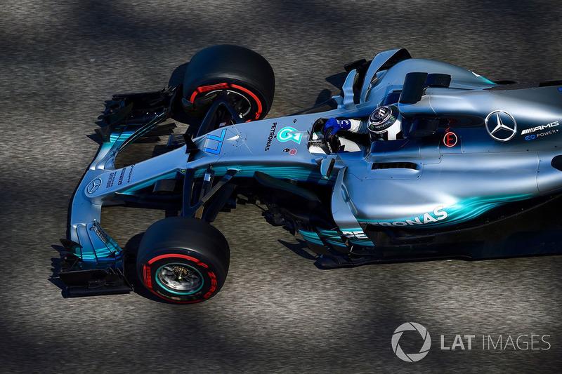 Valtteri Bottas, Mercedes: 10