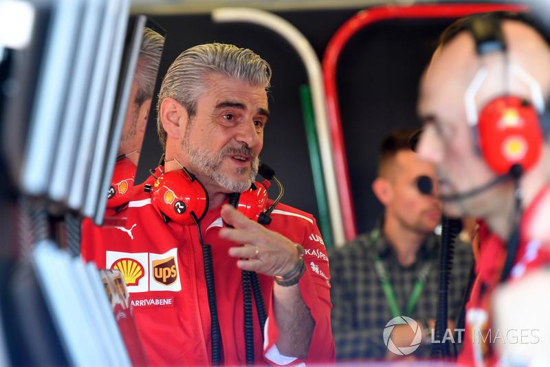 Maurizio Arrivabene, directeur de la Scuderia Ferrari