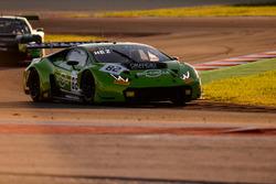 #82 GRT Grasser Racing Team Lamborghini Huracan GT3: Loris Hezemans, Franckb Perera