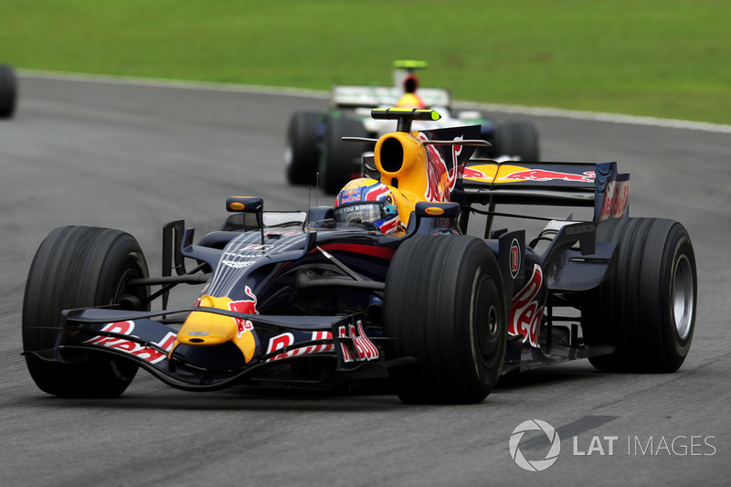 2008 : Red Bull RB4, à moteur Renault