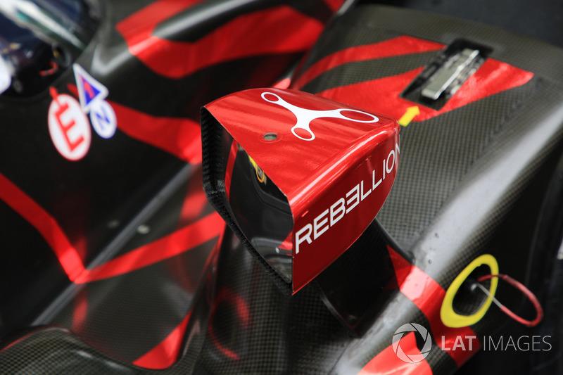 Rebellion Racing detail