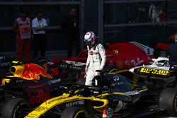 Sergey Sirotkin, Williams Racing, in Parc Ferme