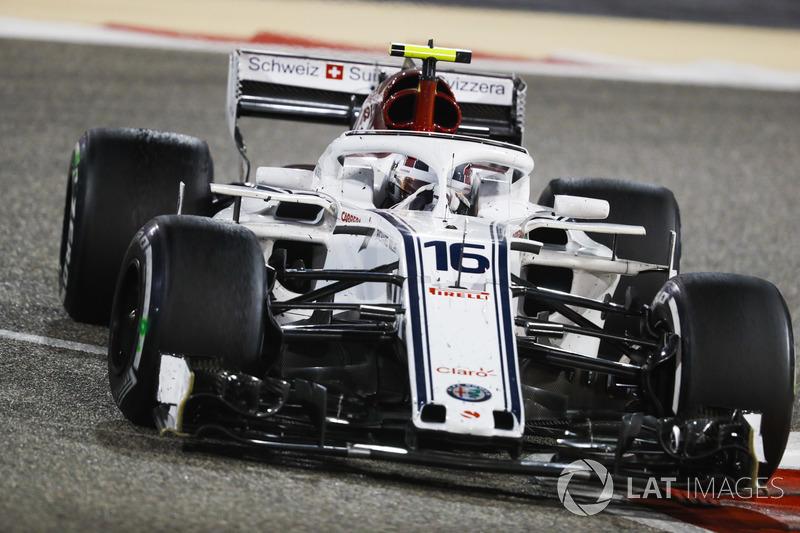 12e : Charles Leclerc (Alfa Romeo Sauber)