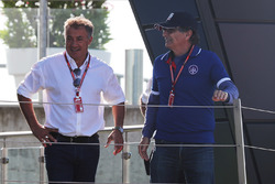Jean Alesi, father of Giuliano Alesi, Trident and Nelson Piquet, padre de Pedro Piquet, Trident