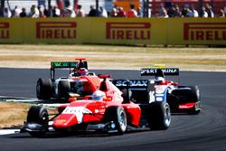 Giuliano Alesi, Trident Joey Mawson, Arden International et Dorian Boccolacci, MP Motorsport