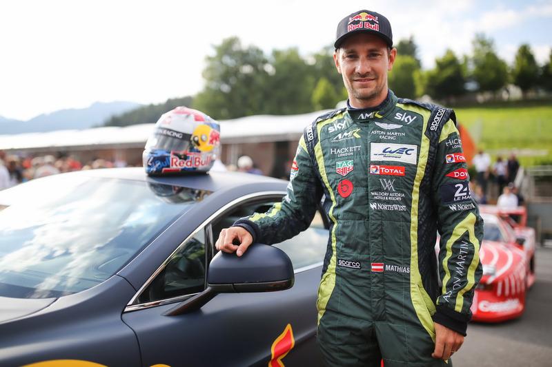 Mathias Lauda, Aston Martin