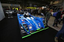 Le Mans cars on display