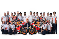 Dani Pedrosa e Marc Marquez, Repsol Honda Team con il team