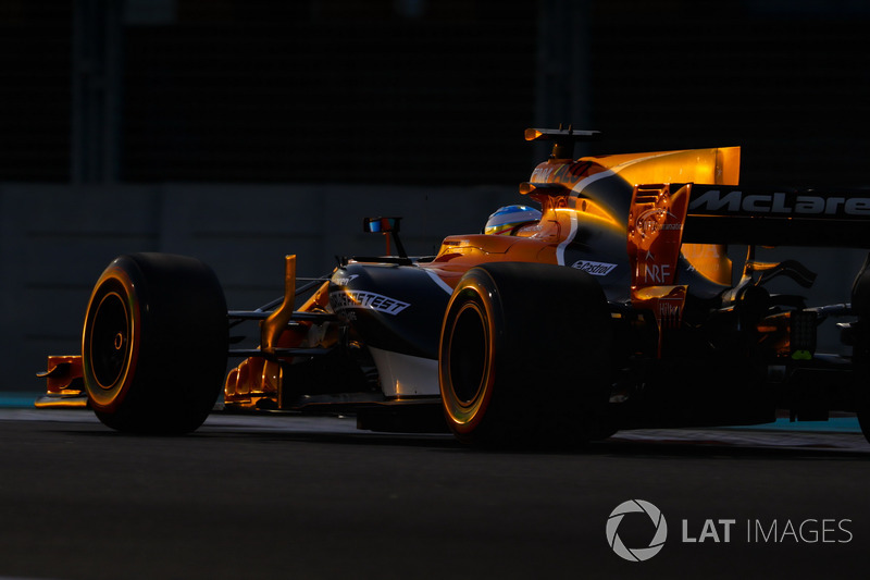 11. Fernando Alonso, McLaren MCL32