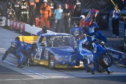 Chase Briscoe, Brad Keselowski Racing Ford pit stop, Sunoco