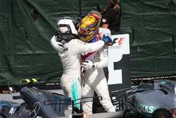 Segundo, Valtteri Bottas, Mercedes AMG F1, ganador, Lewis Hamilton, Mercedes AMG F1