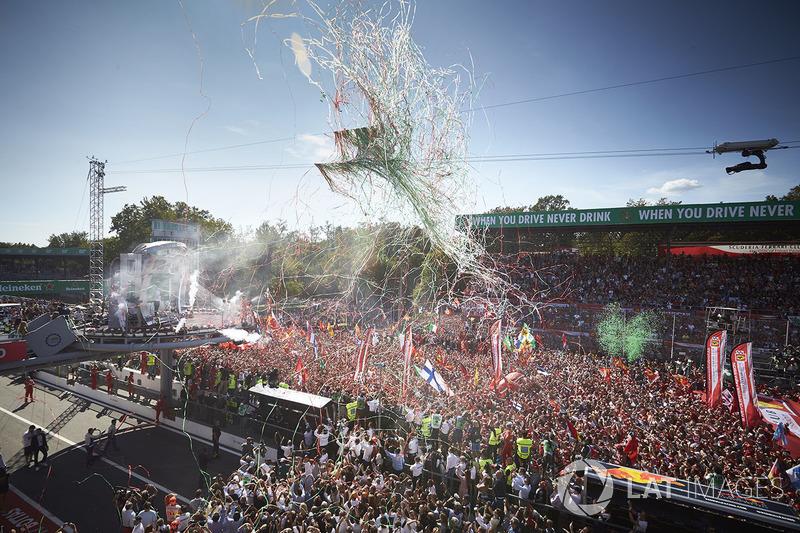 Italia: 185.000 espectadores; +37.500