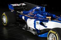 Sauber C36 rear detail