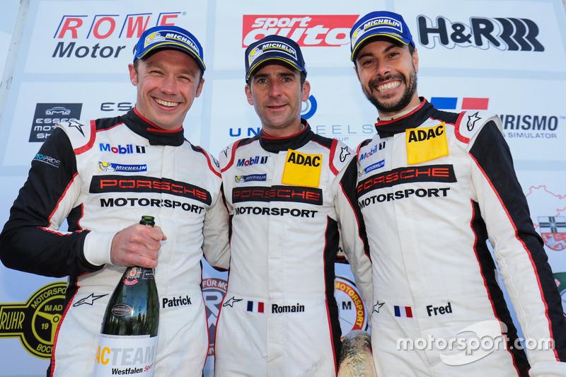 Frédéric Makowiecki, Romain Dumas, Patrick Pilet, Manthey Racing, Porsche 911 GT3 R