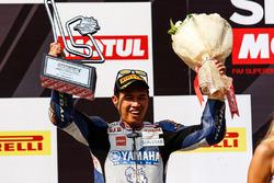 Podium: 2. Decha Kraisart, Yamaha Thailand Racing Team