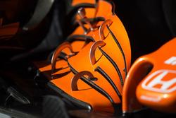 McLaren MCL32: Frontflügel, Detail