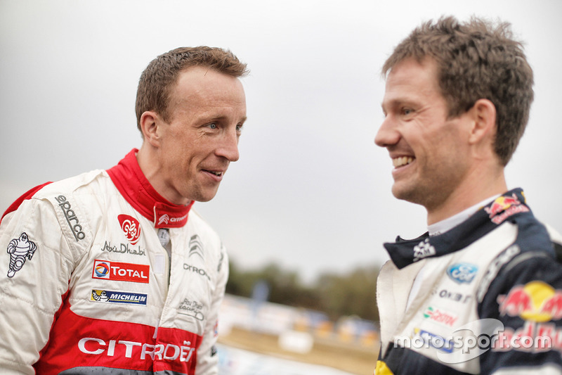 Кріс Мік, Citroën World Rally Team, Себастьян Ож'є, M-Sport