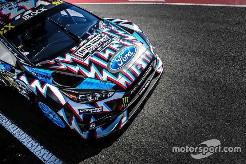 Auto von Ken Block, Hoonigan Racing Division, Ford Focus RSRX