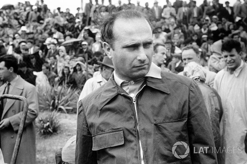 5: Juan Manuel Fangio (1951, 1954, 1955, 1956, 1957)