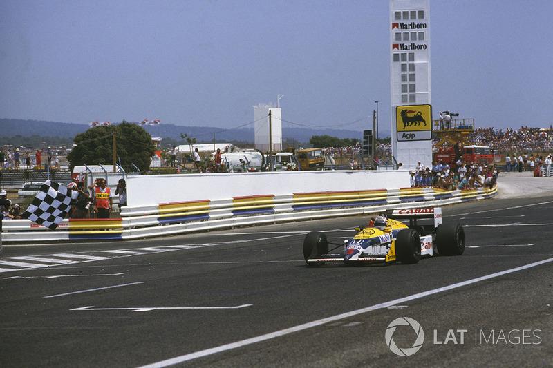 Nigel Mansell: Williams (1985-1988 y 1991-1994)