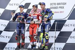 Maverick Viñales, Yamaha Factory Racing, Andrea Dovizioso, Ducati Team, Valentino Rossi, Yamaha Factory Racing