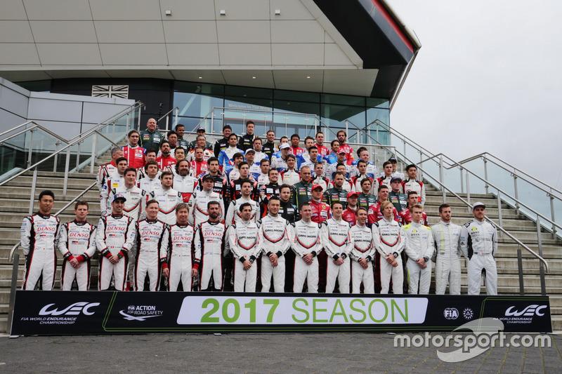 2017 Drivers Group Photo