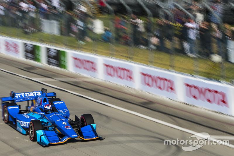 Scott Dixon, Chip Ganassi Racing. Honda
