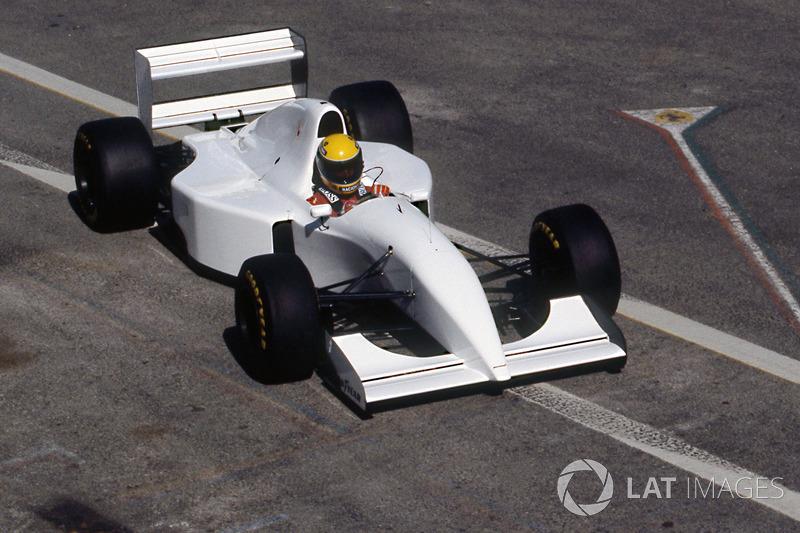 McLaren Estoril teszt