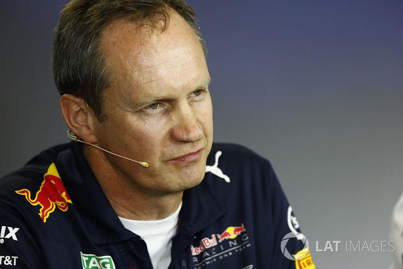 Головний інженер Red Bull Racing Пол Монаген