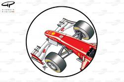 Ferrari F2012 anticipated push rod front suspension