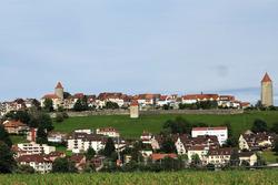 Die mittelalterliche Stadt Romont