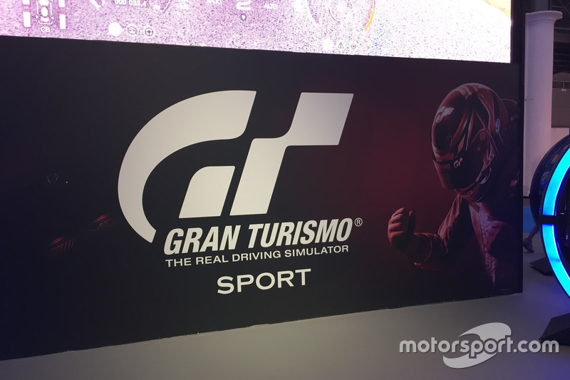 Stand del GT Sport del Barcelona Games World