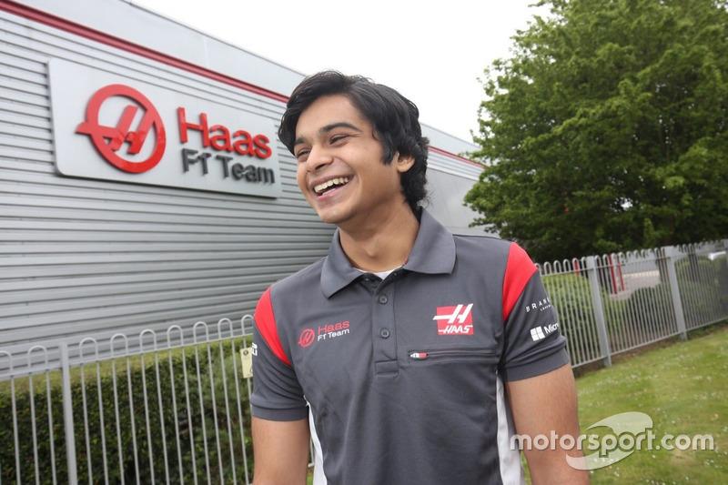 Arjun Maini, Haas F1 Team development driver