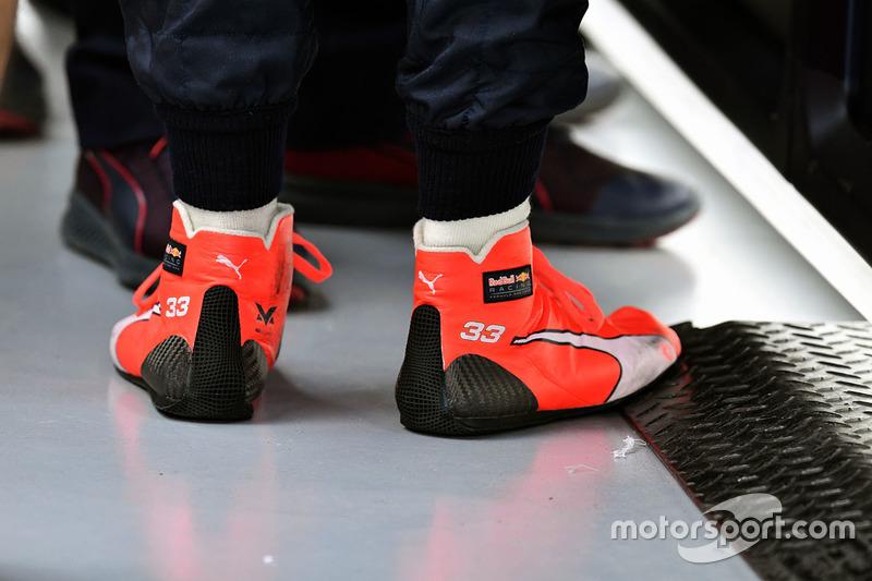 Гоночная обувь Макса Ферстаппена, Red Bull Racing