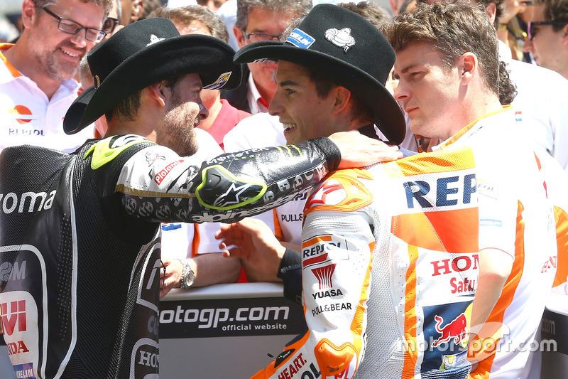 Cal Crutchlow, Team LCR Honda, Marc Márquez, Repsol Honda Team