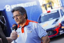 Michel Nandan, head of Hyundai Motorsport