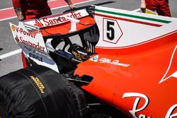 Ferrari SF70H, ala posteriore
