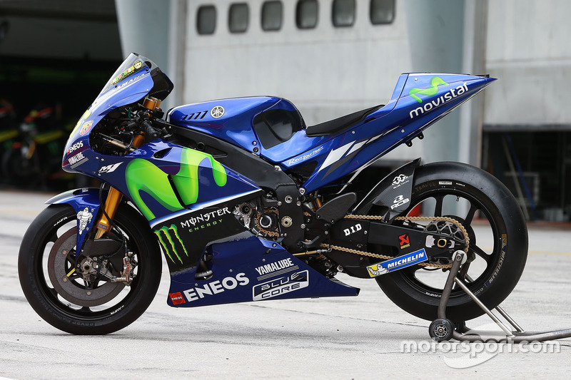 Bike von Valentino Rossi, Yamaha Factory Racing