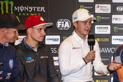 Press Conference, Reinis Nitiss, EKS, Audi S1 EKS RX Quattro