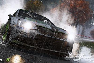 Screenshots: WRC 6