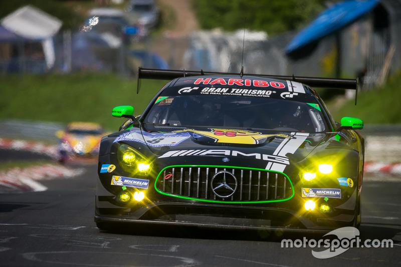 #8 Haribo Racing Team - AMG, Mercedes-AMG GT3: Uwe Alzen, Lance David Arnold, Maximilian Götz, Jan Seyffarth