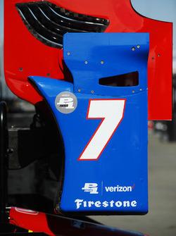 Михаил Алешин, Schmidt Peterson Motorsports Honda, заднее антикрыло автомобиля
