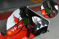 Ferrari SF16-H kanat detay