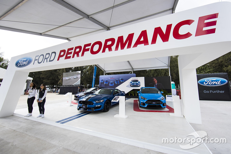 Ford Performance booth