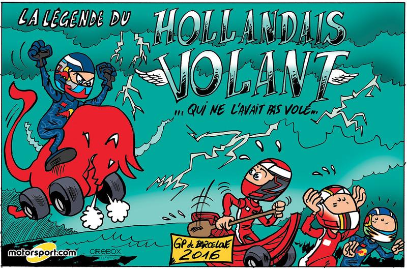 GP d'Espagne - La légende du Hollandais volant...
