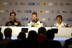 Press Conference: #88 Haribo Racing Team-AMG, Mercedes-AMG GT3: Maximilian Götz; #9 AMG-Team Black Falcon, Mercedes-AMG GT3: Maro Engel; #18 Schubert Motorsport, BMW M6 GT3: Augusto Farfus