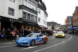 #151 Pixum Team Adrenalin Motorsport, Porsche Cayman: Christian Büllesbach, Andreas Schettler, James
